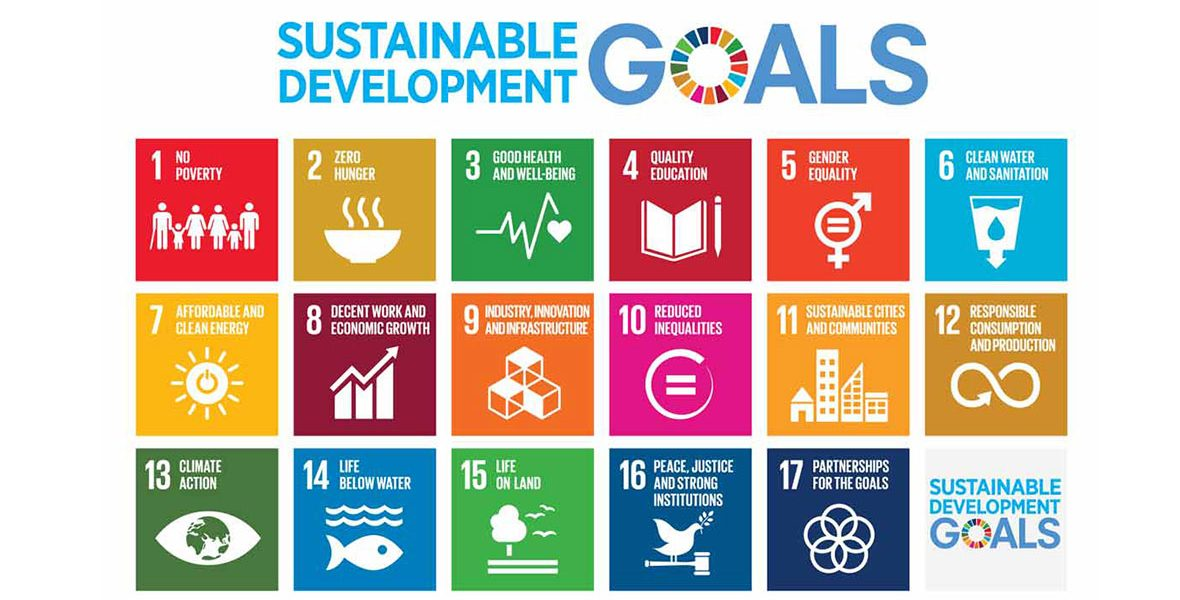 United Nations Sustainable Development Goals Poster